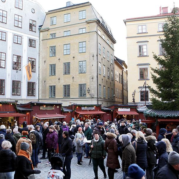 Stockholm julmarnad