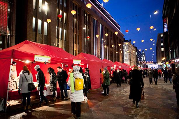kiinalainen uusivuosi Helsingissä
